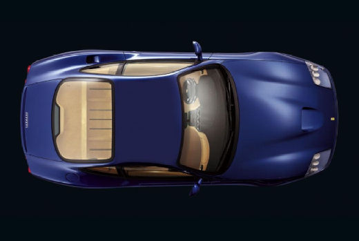 FERRARI 575 F coupe niebieski jasny