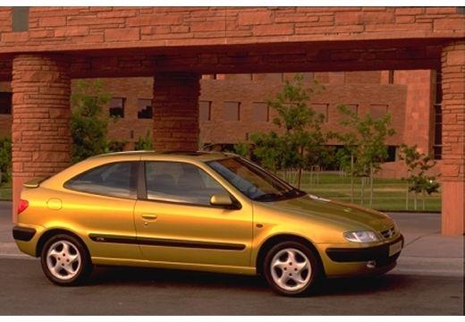 CITROEN Xsara I hatchback żółty boczny prawy
