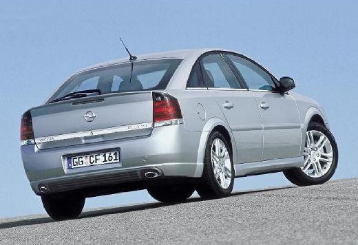 OPEL Vectra C I hatchback silver grey tylny prawy