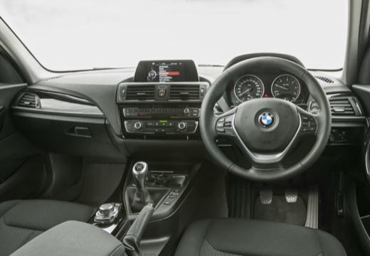 BMW Seria 1 F20 II hatchback tablica rozdzielcza