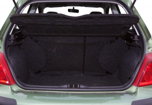 PEUGEOT 307 hatchback przestrzeń załadunkowa