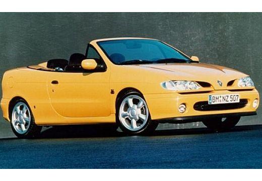 RENAULT Megane Cabrio I kabriolet żółty przedni prawy