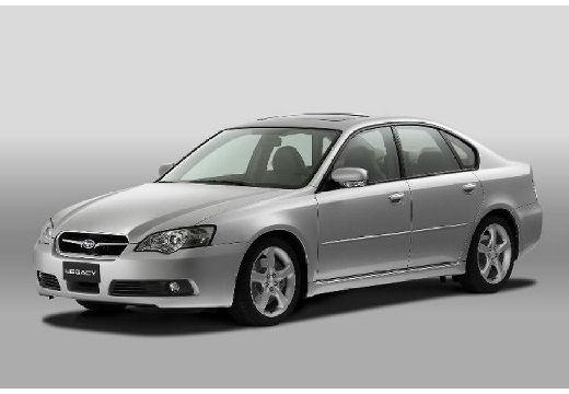 SUBARU Legacy VI sedan silver grey przedni lewy