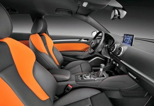 AUDI A3 8V hatchback wnętrze