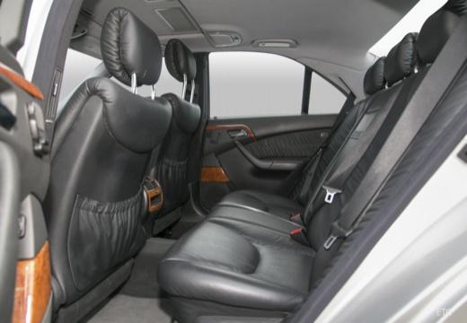 MERCEDES-BENZ Klasa S W 220 II sedan wnętrze