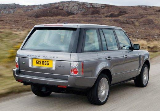 LAND ROVER Range Rover IV kombi silver grey tylny prawy