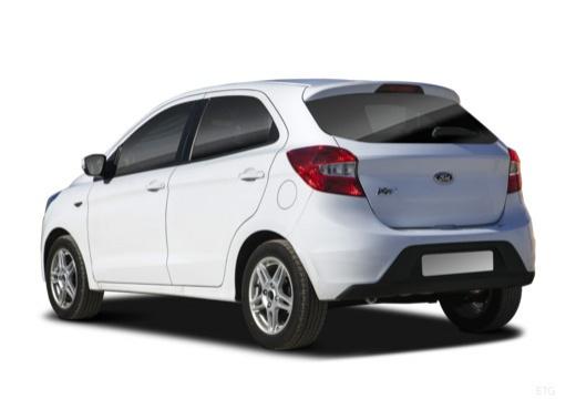 FORD Ka+ hatchback biały tylny lewy