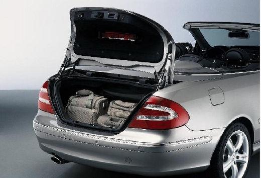 MERCEDES-BENZ Klasa CLK kabriolet silver grey wnętrze