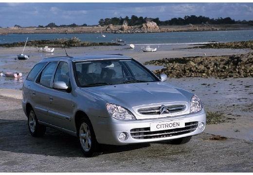 CITROEN Xsara Break II kombi silver grey przedni prawy