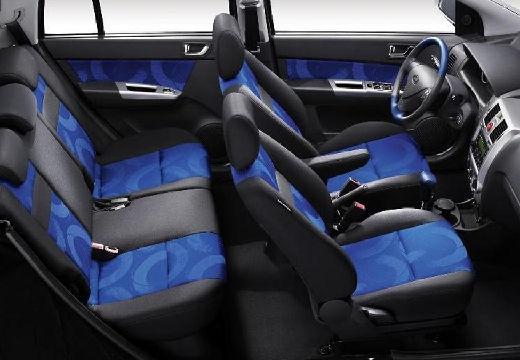HYUNDAI Getz II hatchback wnętrze
