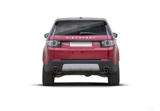 LAND ROVER Discovery Sport I kombi czerwony jasny tylny