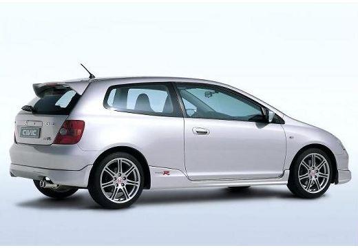 HONDA Civic IV hatchback silver grey tylny prawy