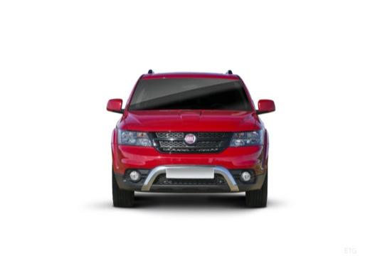 FIAT Freemont I van czerwony jasny przedni