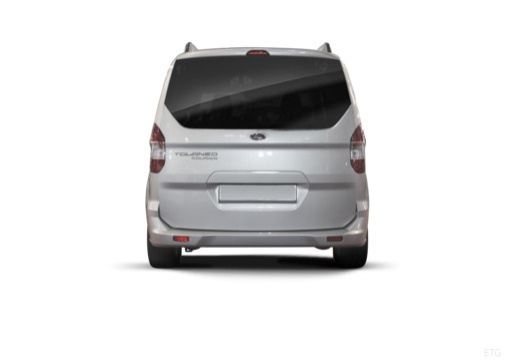 FORD Tourneo Courier I kombi silver grey tylny