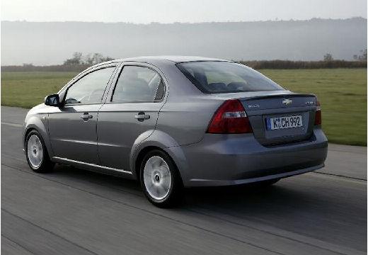 CHEVROLET Aveo II sedan silver grey tylny lewy