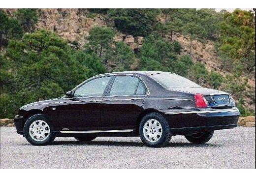 ROVER R 75 I sedan bordeaux (czerwony ciemny) tylny lewy