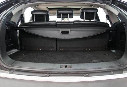 SSANG YONG Actyon hatchback czarny przestrzeń załadunkowa