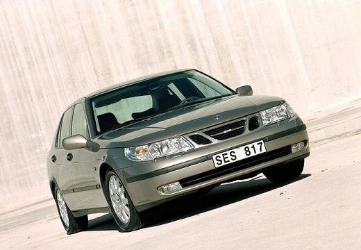 SAAB 9-5 II sedan brązowy przedni prawy