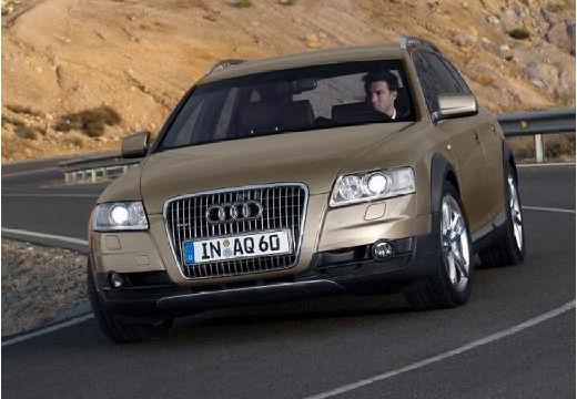 AUDI A6 Allroad kombi brązowy przedni lewy