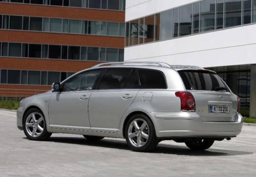 Toyota Avensis IV kombi silver grey tylny lewy