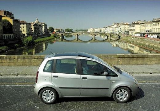 FIAT Idea kombi silver grey boczny prawy