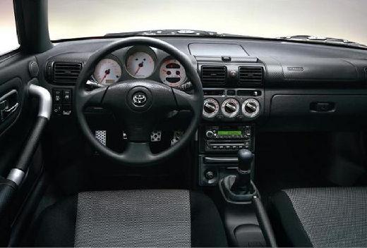 Toyota MR2 roadster tablica rozdzielcza