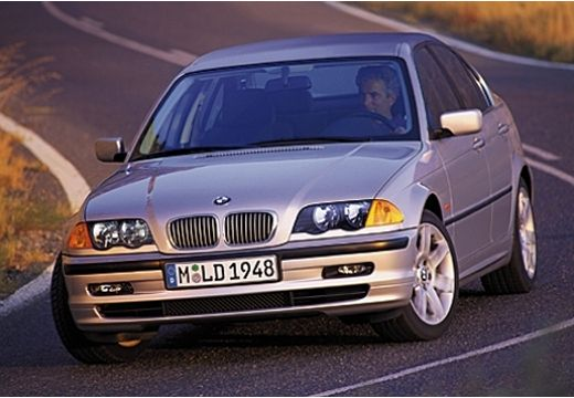 BMW Seria 3 E46 sedan silver grey przedni lewy