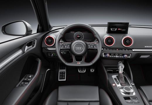 AUDI A3 Sportback 8V II hatchback szary ciemny tablica rozdzielcza