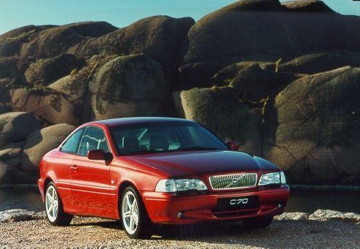 VOLVO C70 coupe czerwony jasny przedni prawy