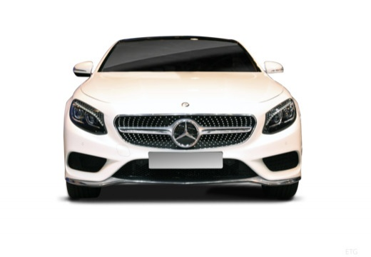 MERCEDES-BENZ Klasa S Coupe coupe przedni