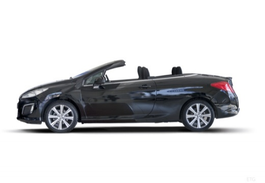 PEUGEOT 308 kabriolet boczny lewy