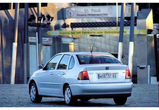 VOLKSWAGEN Polo III Classic II sedan silver grey tylny lewy