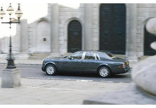 ROLLS-ROYCE Phantom I sedan silver grey tylny lewy