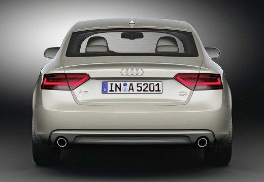 AUDI A5 hatchback silver grey tylny