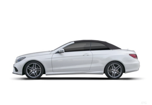 MERCEDES-BENZ Klasa E Cabrio A 207 II kabriolet boczny lewy