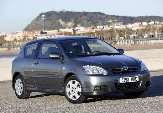 Toyota Corolla VII hatchback szary ciemny przedni prawy