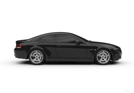 BMW Seria 6 E63 II coupe boczny prawy