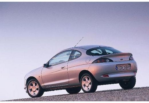 FORD Puma I coupe silver grey tylny lewy