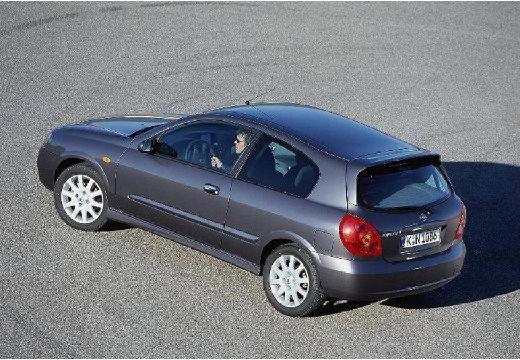 NISSAN Almera II II hatchback szary ciemny tylny lewy