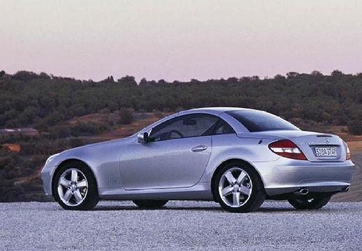 MERCEDES-BENZ Klasa SLK SLK R 171 I roadster silver grey tylny lewy