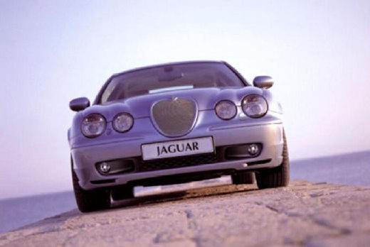 JAGUAR S-Type sedan silver grey przedni