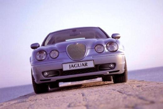 JAGUAR S-Type II sedan silver grey przedni