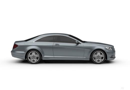 MERCEDES-BENZ Klasa CL coupe boczny prawy