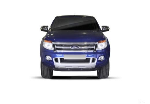 FORD Ranger pickup niebieski jasny przedni
