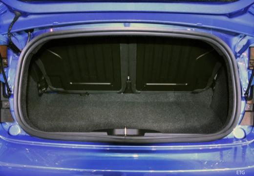 FIAT 500 C II kabriolet przestrzeń załadunkowa