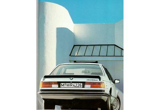 BMW Seria 6 E24 coupe silver grey tylny prawy