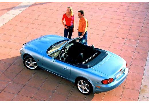 MAZDA MX-5 III roadster niebieski jasny górny tylny