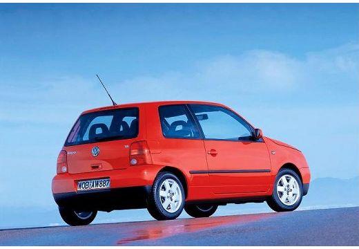 VOLKSWAGEN Lupo hatchback czerwony jasny tylny prawy