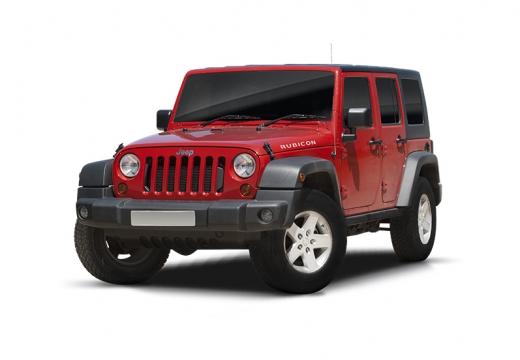JEEP Wrangler III soft top czerwony jasny