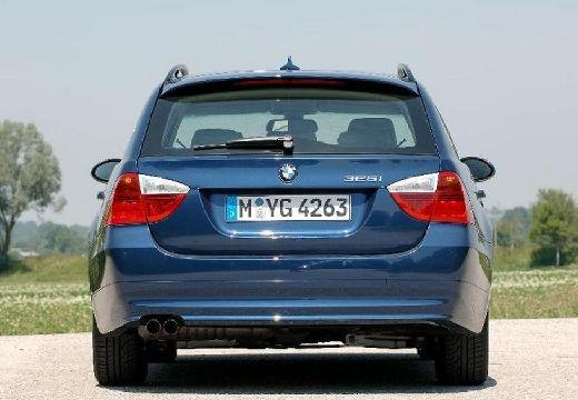 BMW Seria 3 Touring E91 I kombi niebieski jasny tylny